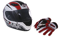 Helmets & Clothing Jet Force 50 C-Tech A1AAAA 13 inch