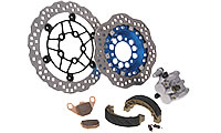 Brake Parts MXU 500 IRS DX LOF LAA0ED