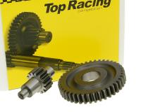 secondary transmission gear set Top Racing 15/39 ratio for Minarelli