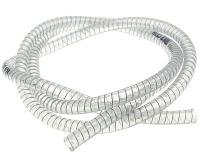 spiral supported coolant hose for ventilation, coolant tube 1m d=9mm