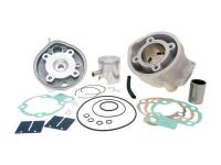 cylinder kit Polini aluminum racing 76cc 50mm for Minarelli AM6
