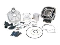 cylinder kit Polini cast iron sport 70cc 47mm for Piaggio LC