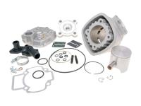cylinder kit Polini aluminum sport 70cc 47.4mm for Piaggio LC