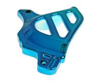 front sprocket cover blue for Minarelli AM, Generic, KSR-Moto, Keeway, Motobi, Ride, 1E40MA, 1E40MB