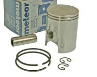 piston kit Meteor 40.30mm replacement for Minarelli AM, Generic, KSR-Moto, Keeway, Motobi, Ride, 1E40MA, 1E40MB