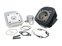 cylinder kit Polini cast iron sport 70cc 10mm for Minarelli horizontal AC, obliquely