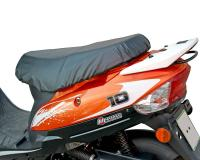 seat cover removable, waterproof, black in color for scooters