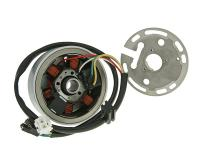 alternator stator and rotor for Derbi, Aprilia with Ducati / Kokusan ignition