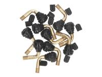 tire valve tubeless 90° bent PVR70 - set of 10 pcs