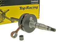 crankshaft Top Racing full circle high quality for 12mm piston pin for Minarelli