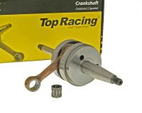 crankshaft Top Racing full circle high quality for Peugeot horizontal woodruff key
