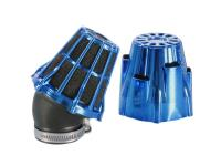 air filter Polini D.32 air box 32mm 30° chromed blue