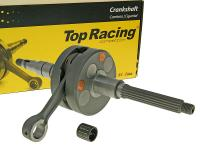 crankshaft Top Racing Evolution NG Next Generation for 12mm piston pin for Minarelli