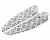 foot plates Opticparts DF checkered aluminium for SR50 (97-05)