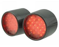 tail light LED carbon-look for Aprilia SR50 (97-05)
