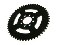 rear sprocket 50 teeth (chain 420) 8-hole, center hole d=60mm for Yamaha DT50 R Trail (03-)