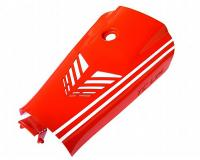 battery case cover Top Custom Line red for Yamaha Aerox, MBK Nitro