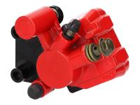 one piston brake caliper, front incl. pads for Keeway, Generic, CPI, Rieju, Rex, Explorer, Baotian