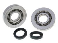 crankshaft bearing set for Gilera Runner, Piaggio Hexagon, Italjet Dragster 125, 180cc