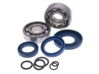 crankshaft bearing set SKF 19mm incl. o-rings for Vespa 50, PK 50