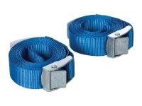 cam buckle tie-down straps Silverline 25mm x 2.5m - 2 pieces