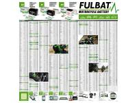 poster Fulbat motorcycle and scooter battery applications