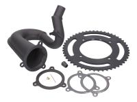 derestriction kit premium w/ black exhaust manifold for Beta RR50 2017-