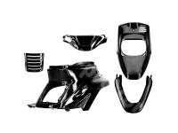fairing kit black metallic 5-part for MBK Booster