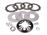 clutch parts set 18-piece for Simson S51, S53, S70, S83, SR50, SR80, KR51/2