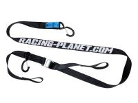 tie down strap set Racing Planet 35mm w/ hooks - 2 pieces