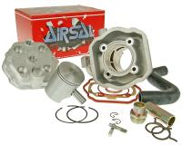 cylinder kit Airsal Tech-Piston 69.5cc 47.6mm for Peugeot vertical LC