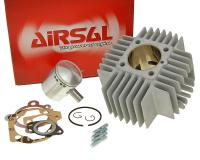 cylinder kit Airsal racing 68.4cc 45mm for Puch Automatic X20, X30 with short cooling fins