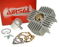 cylinder kit Airsal racing 68.4cc 45mm with long cooling fins for Puch Maxi