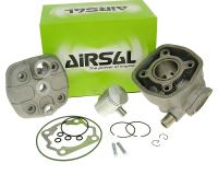cylinder kit Airsal sport 50cc 39.9mm, 40mm cast iron for Derbi EBE EBS