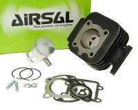 cylinder kit Airsal sport 49.2cc 40mm, 39.2mm cast iron for Minarelli vertical