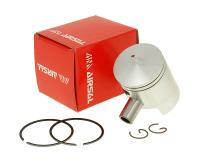 piston kit Airsal sport 50cc 39.9mm, 40mm cast iron for Derbi, Piaggio D50B0