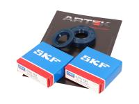 crankshaft bearing set ARTEK K1 racing SKF polyamide for Minarelli