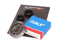 crankshaft bearing set ARTEK K1 racing SKF polyamide for Peugeot vertical E1