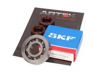 crankshaft bearing set ARTEK K1 racing SKF polyamide for Piaggio