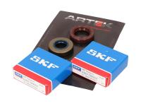 crankshaft bearing set ARTEK K1 racing SKF polyamide for Minarelli AM