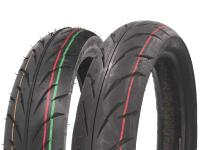 tire set Duro HF918 100/80-17 & 130/70-17