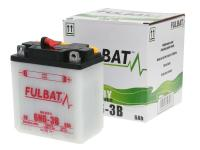 battery Fulbat 6V 6N6-3B DRY incl. acid pack