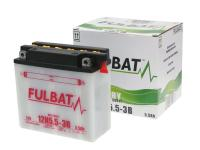 battery Fulbat 12N5.5-3B DRY incl. acid pack