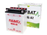 battery Fulbat FB14L-A2 DRY incl. acid pack