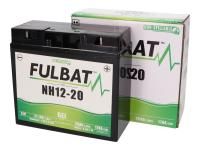 battery Fulbat NH12-20, NH12-18 GEL for ride-on mower, mowing machine