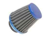 air filter Power 35mm carburetor connection blue