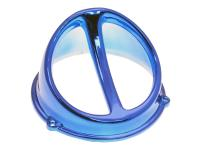 fan spoiler Air Scoop chrome blue - universal