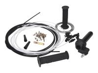 quick action throttle kit black - universal