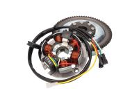 alternator stator and rotor OEM for Minarelli AM E-start