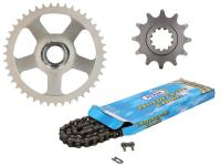 chain kit AFAM 12/43 teeth for Aprilia RS50 93-98 (6-speed)